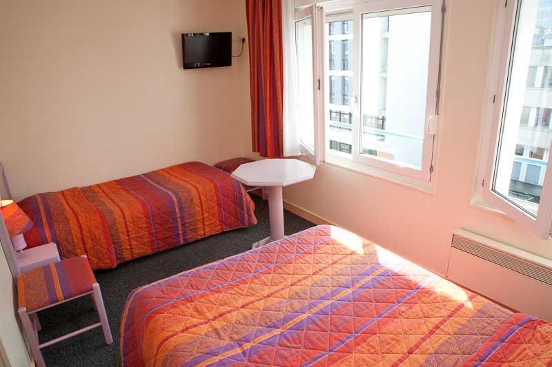 Chambre Contact Hôtel ATLANTIC à RENNES