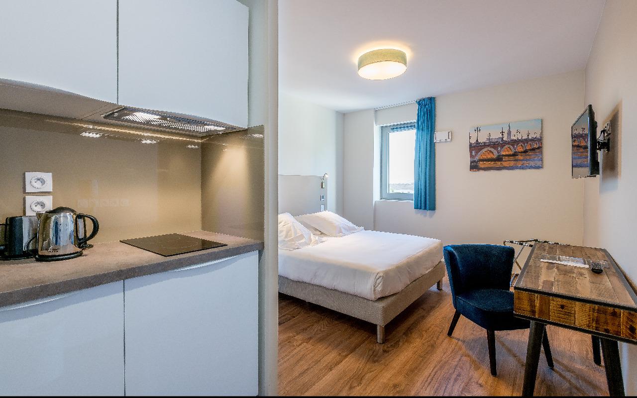 Chambre All Suites Appart Hôtel Bordeaux-Marne à BORDEAUX