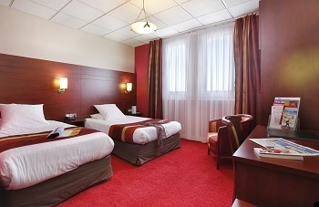 Chambre Qualys-Hotel Le Havre Océane à LE HAVRE