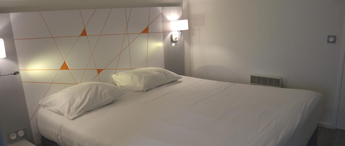 Chambre INTER-HOTEL Montpellier Parc Euromédecine à MONTPELLIER