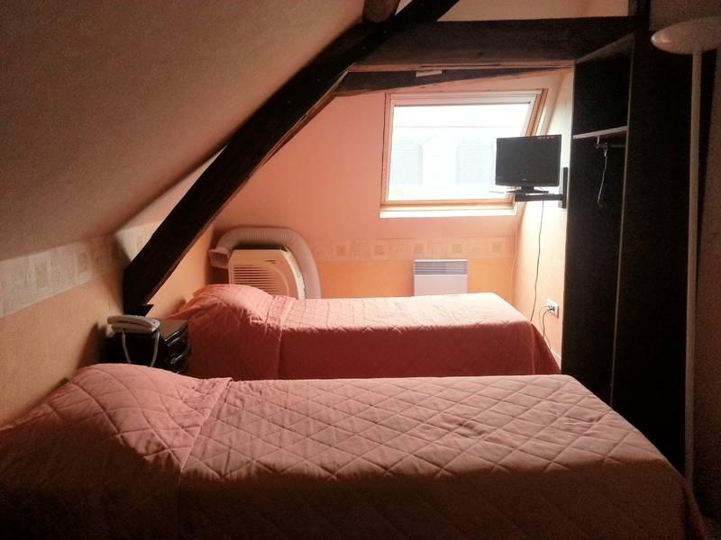 Chambre INTER-HOTEL Tours Ouest Le Cheval Rouge à VILLANDRY
