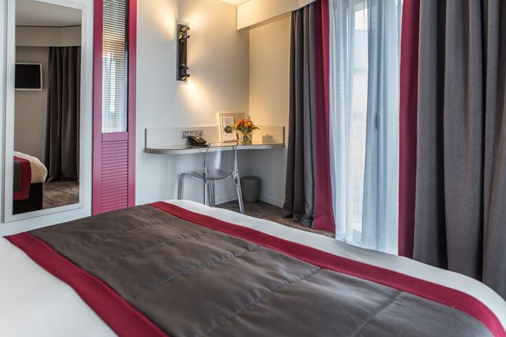 Chambre Relais du Silence Grand Hôtel de Courtoisville - Piscine & Spa à ST MALO