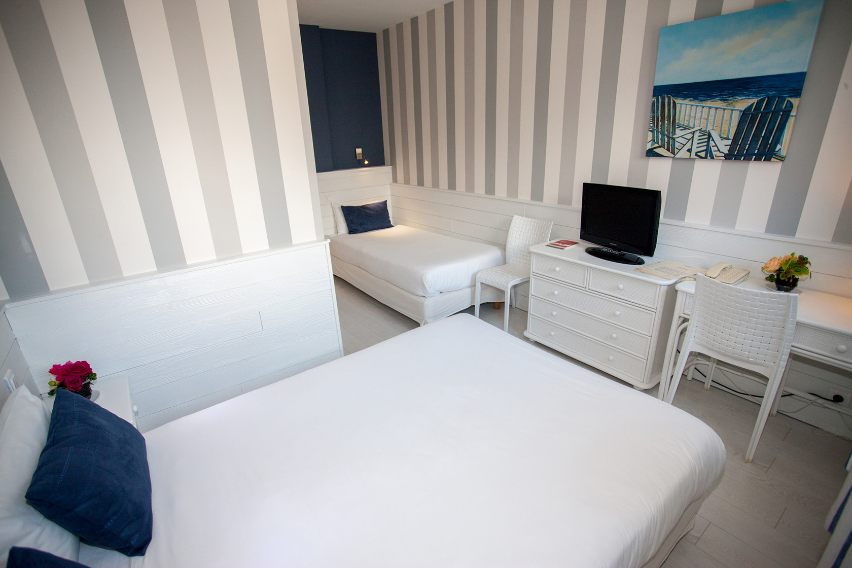Chambre INTER-HOTEL Royan Miramar à ROYAN