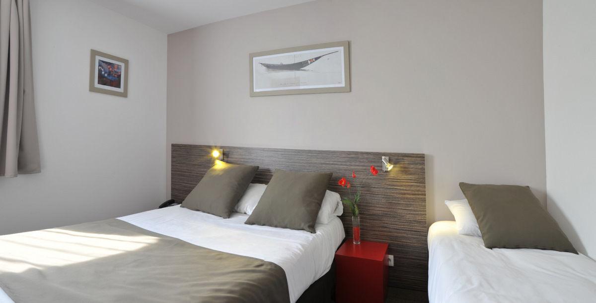 Chambre Inter-hôtel Nantes Ouest Saint-Herblain à ST HERBLAIN