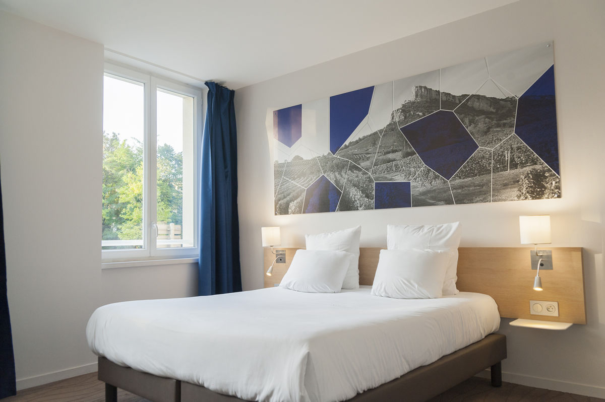 Chambre Brit Hotel Macon Centre Gare à MACON