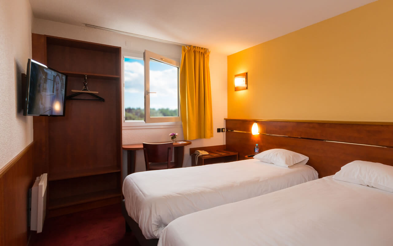 Chambre BRIT HOTEL RENNES CESSON - LE FLOREAL à CESSON-SÉVIGNÉ