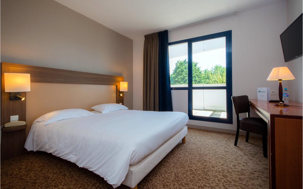 Chambre BRIT HOTEL SAINT MALO - LE TRANSAT à ST MALO
